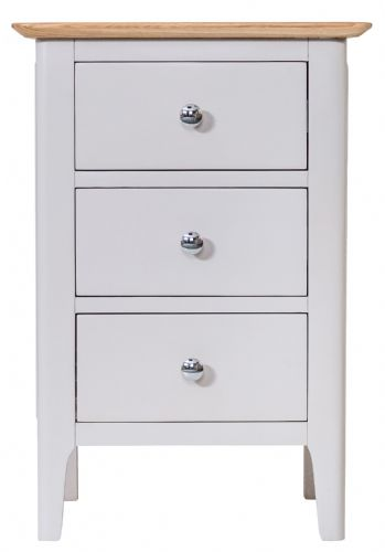 Scandia Grey Large Bedside Cabinet